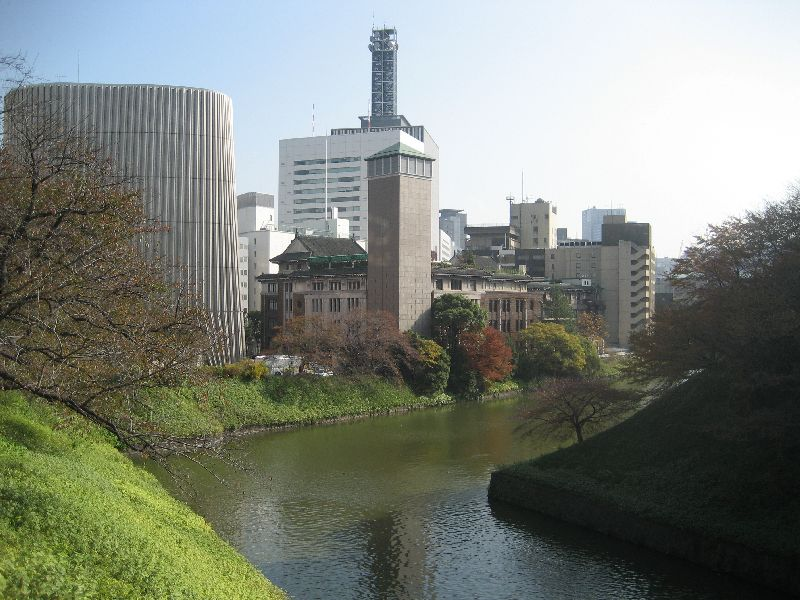 Imperial Palace Moat - Northside