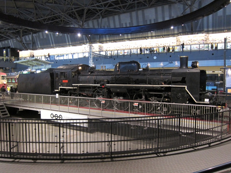 Tokyo Train Museum - Turntable