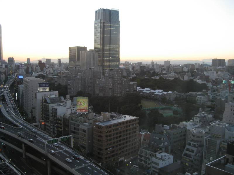Looking Toward Roppongi from Ark Hills - Daytime