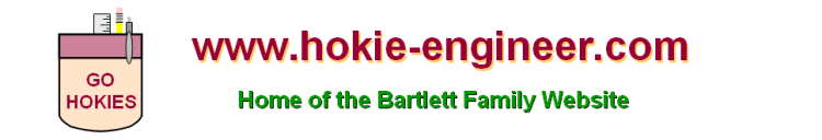 Hokie-Engineer & The Bartlett Family Website